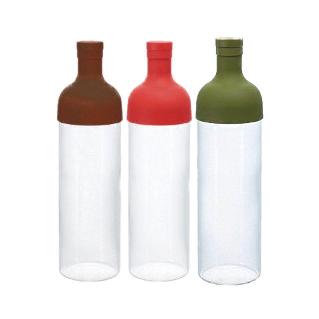 フィルターインボトル カラーバリエーション