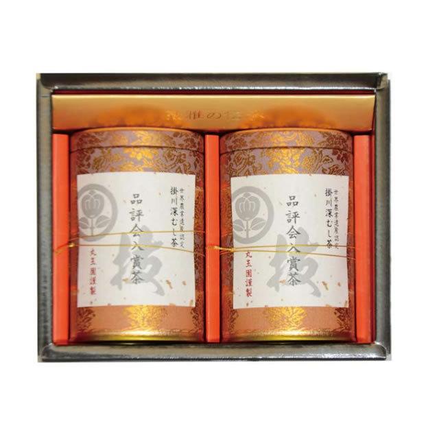 品評会入賞茶 130g缶(2本) 箱入
