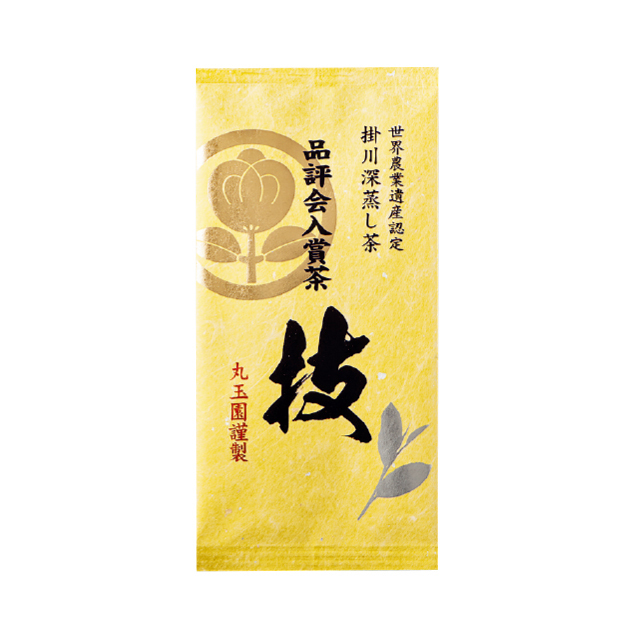 掛川深蒸し茶 品評会入賞茶(袋入り 80g)