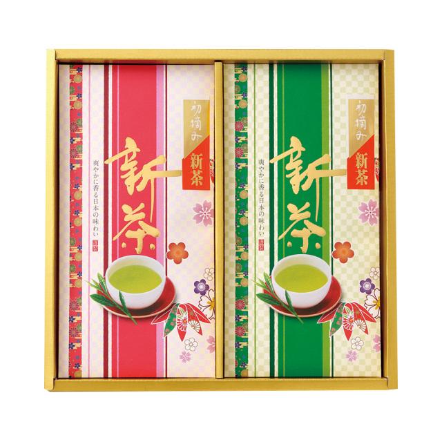【新茶】初摘み新茶/90g×2本 たとう紙入