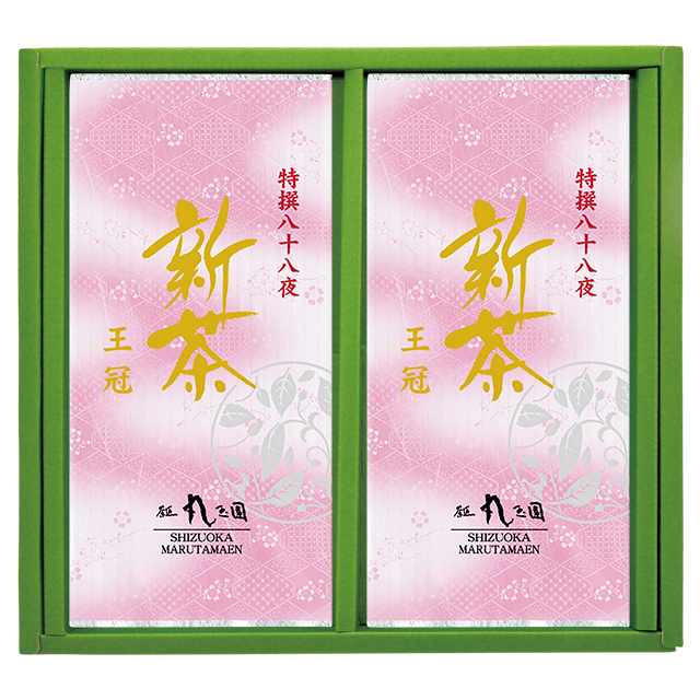 新茶 王冠 100g 2本 箱入