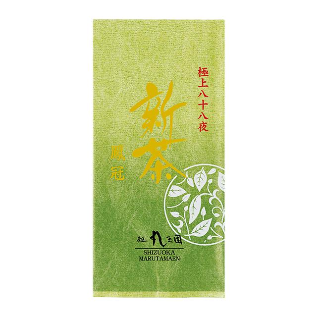 極上八十八夜新茶 鳳冠(ほうかん)/100g袋入