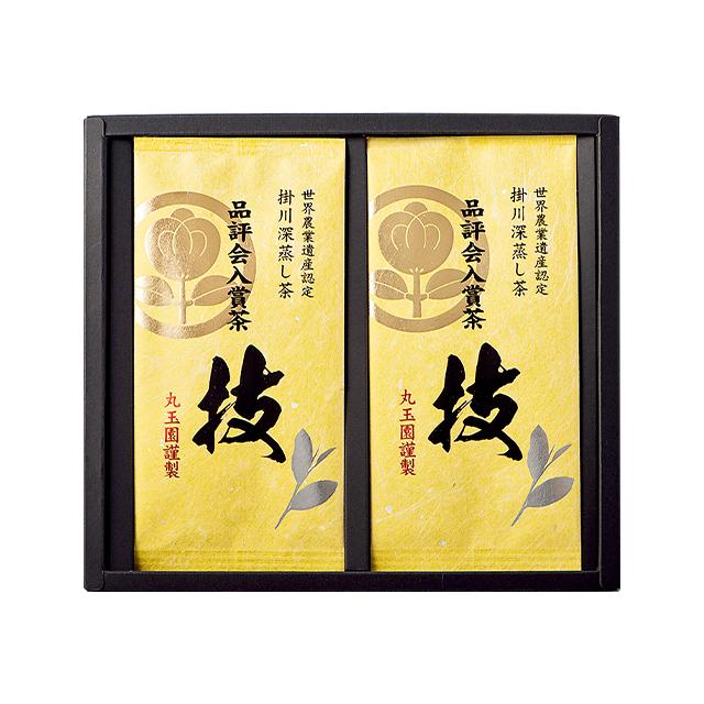 掛川深蒸し茶 品評会入賞茶(袋入り 80g)2本入