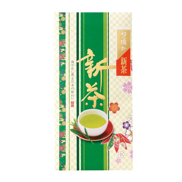 【新茶】初摘み新茶 90g たとう紙入