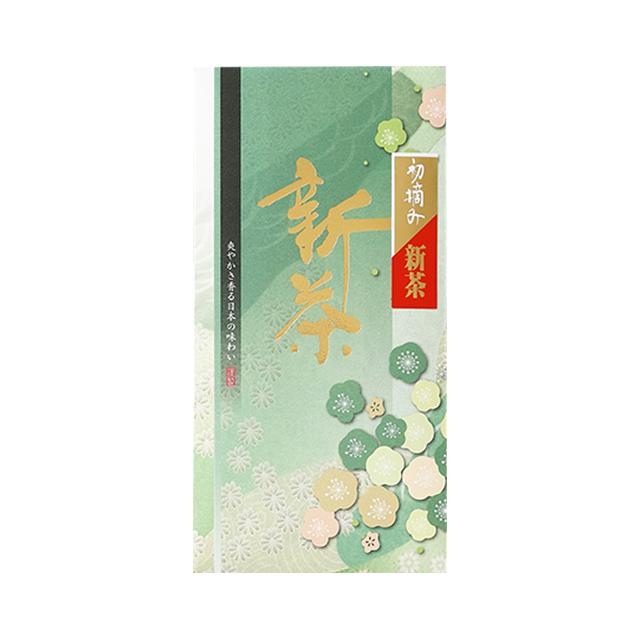 【新茶】初摘み新茶/100g たとう紙入