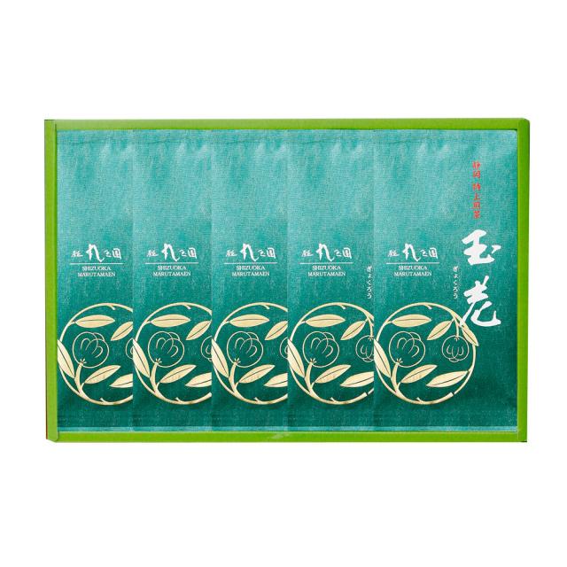 【茶の実紋シリーズ】 玉老(ぎょくろう)/100g×5本 箱入