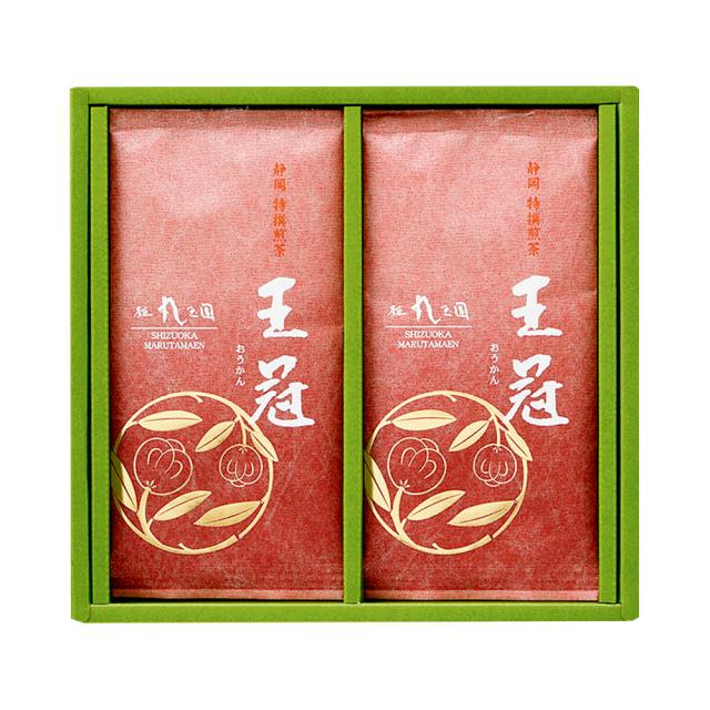 【茶の実紋シリーズ】 王冠(おうかん)/100g×2本 箱入