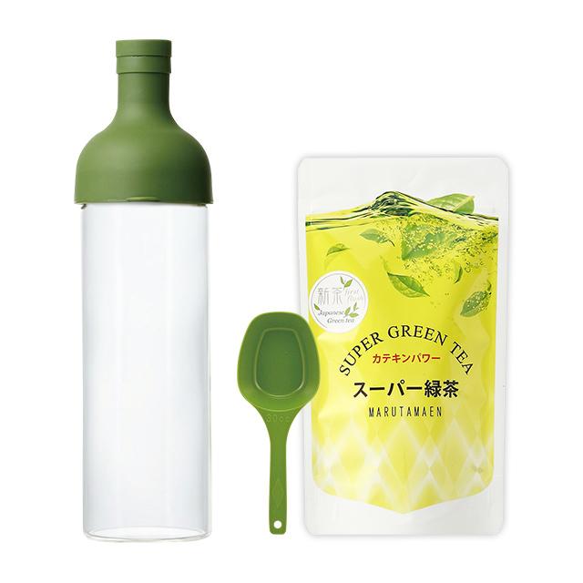 フィルターインボトルとスーパー緑茶のセット