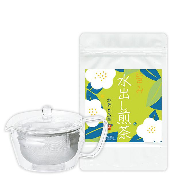 香り水出し煎茶とスタイリッシュ急須「禅」のセット