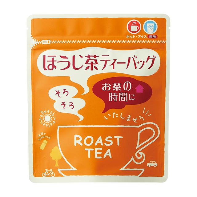 ほうじ茶ティーバッグ 3g10入 ヒモ付