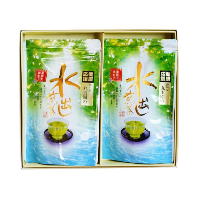 【特撰掛川深蒸し】水出し煎茶ティーバッグ/5g×17ヶ×2本入