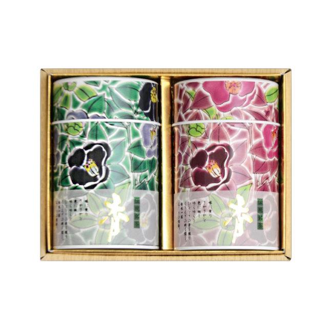 九谷つばき缶 (老寿100g×2本)