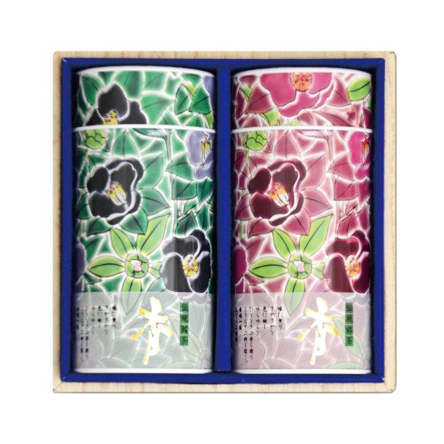 九谷つばき缶 (老寿180g×2本)