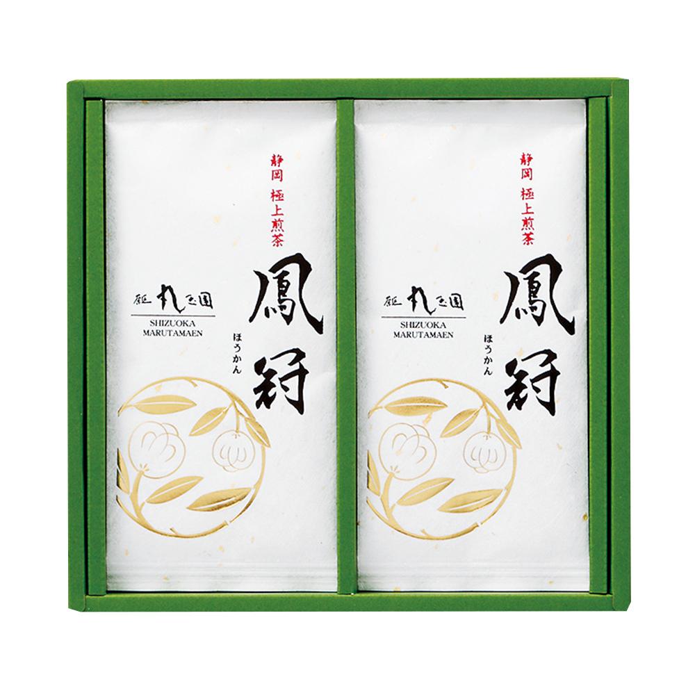 【茶の実紋シリーズ】 鳳冠(ほうかん)/100g×2本 箱入