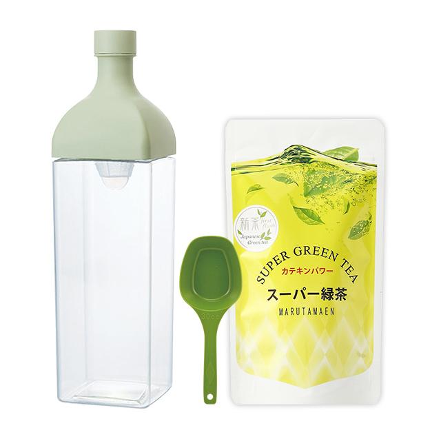 カークボトルとスーパー緑茶のセット