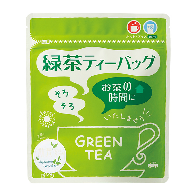 緑茶ティーバッグ 3g10入 ヒモ付
