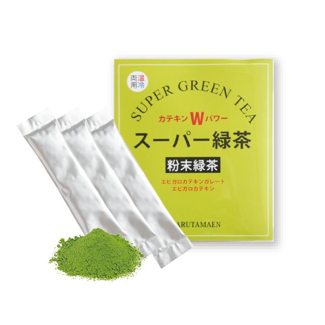 スーパー緑茶 粉末ススティック/1g×16本入
