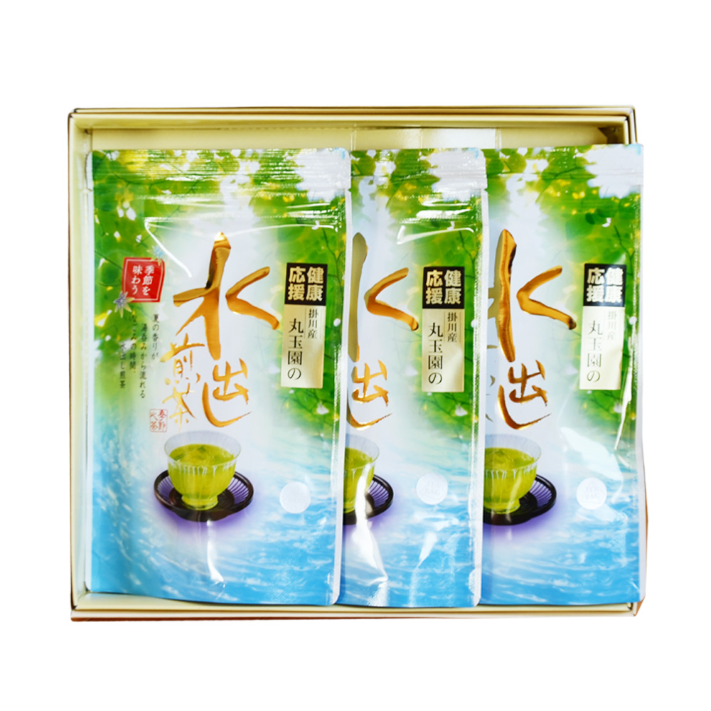 【特撰掛川深蒸し】水出し煎茶ティーバッグ/5g×17ヶ×3本入