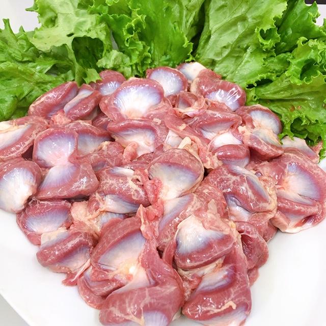 【販売記念価格】(チルド)赤どり 砂肝 1kg 約43個