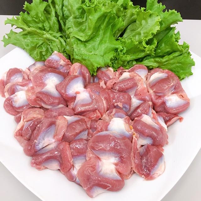 【販売記念価格】(チルド)錦爽どり 砂肝 1kg 約36個