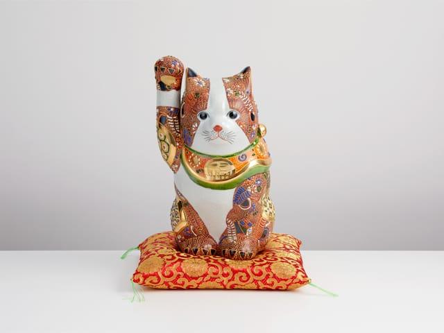 8号招猫 盛小紋 (布団付)