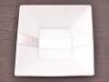 九谷焼 和陶房 3.5号角皿/小皿 豆皿/  帯銀箔  辺10.5×高2.3cm