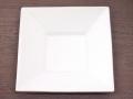 九谷焼 和陶房 3.5号角皿/小皿 豆皿/  渕銀箔  辺10.5×高2.3cm