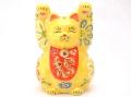 3号福万歳猫 九谷焼
