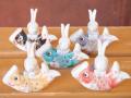 九谷焼 兎鯉のぼり