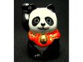 九谷焼 2号招き猫 パンダ