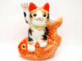 めで鯛のり招き猫