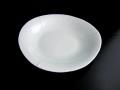 九谷焼 青白ライン 5号オーバル皿