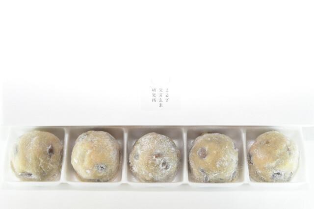 焙煎玄米の塩豆大福 5個入り