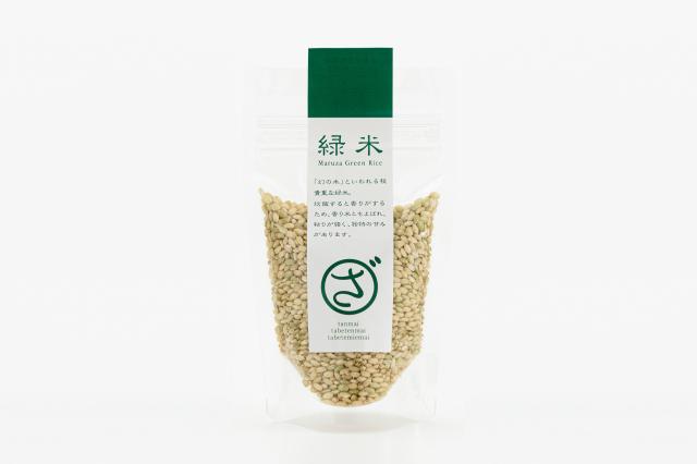 まるざ古代米 緑米