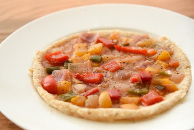 まるざのトマト麹で作るラタトゥイユピッツァ