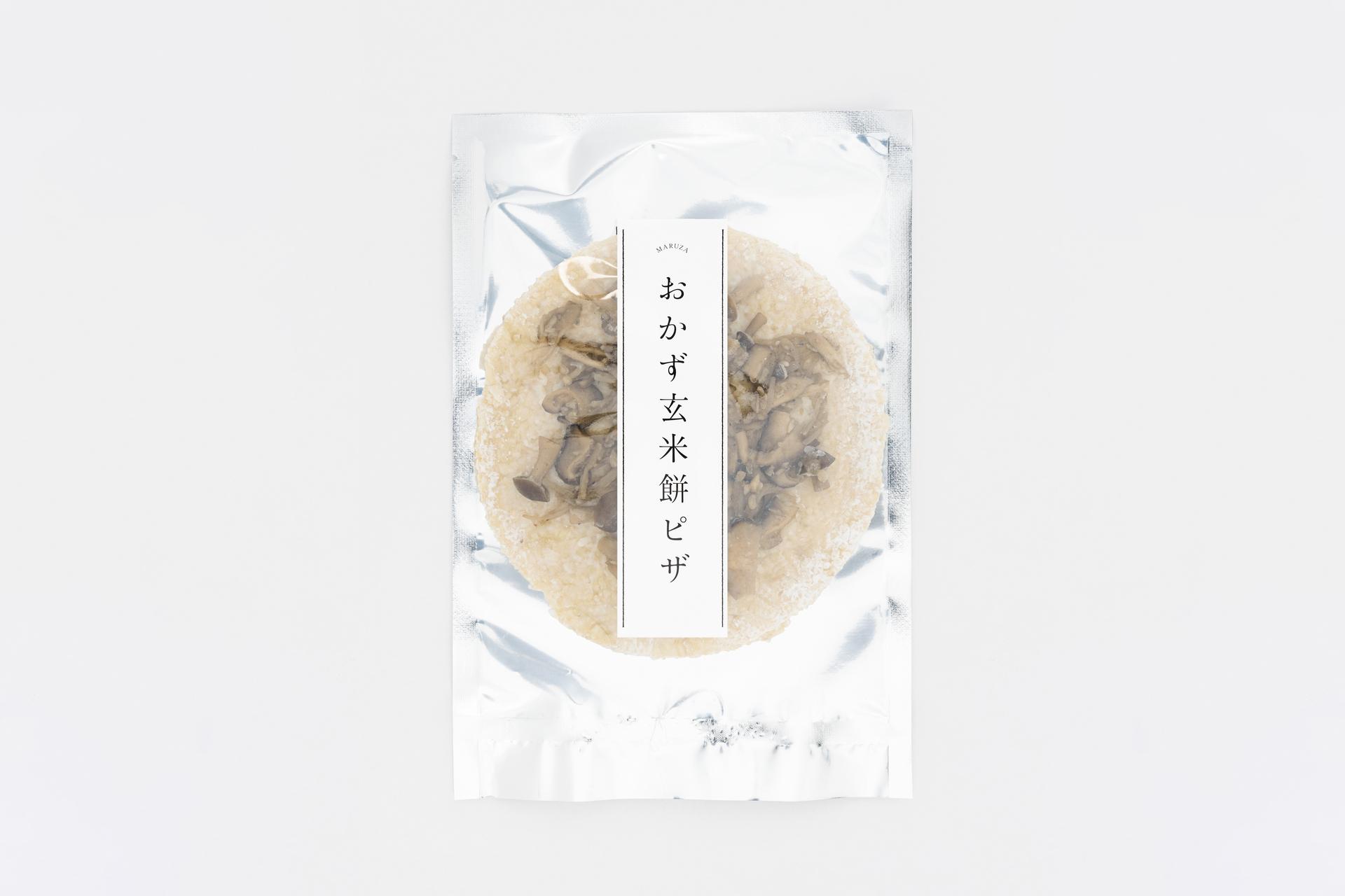 まるざの塩麹と4種きのこピッツァ