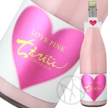 ちえびじん LOVE PINK 桃色にごり 純米原酒 1800ml