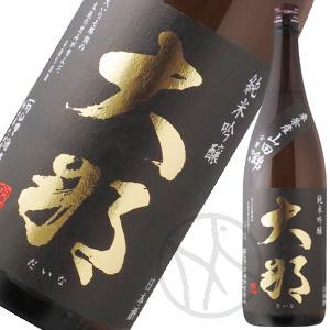 大那 純米吟醸 東条産山田錦 無濾過生酒 1800ml