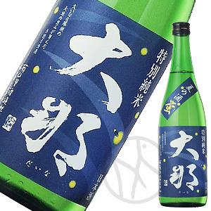 大那 特別純米夏の酒「蛍(ほたる)」720ml