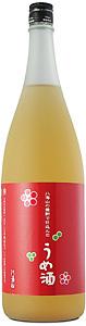 八海山の焼酎で仕込んだ梅酒1800ml