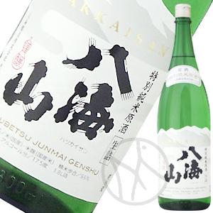 八海山 特別純米原酒 1800ml