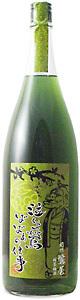 紀州鶯屋 緑茶梅酒1800ml