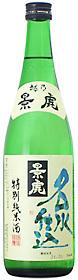 越乃景虎 名水仕込 特別純米酒720ml