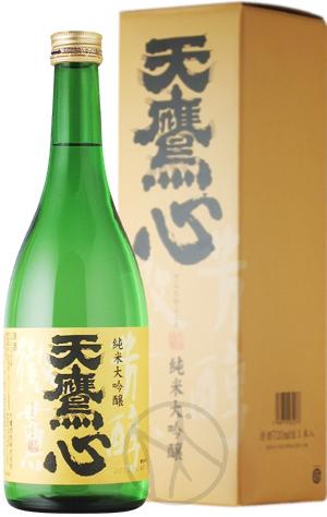 天鷹 純米大吟醸 心(こころ)720ml【専用化粧箱付き】