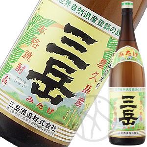 芋焼酎25° 三岳1800ml
