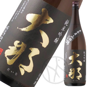 大那 純米吟醸 東条産山田錦 生酒 1800ml