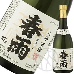 泡盛37° 春雨8年古酒720ml【専用化粧箱付き】