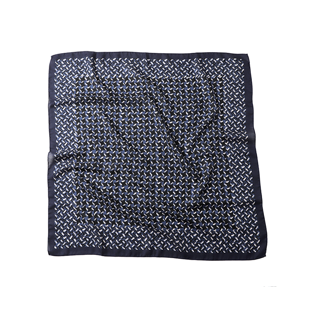 VINCENZO MIOZZA カシミヤシルク スカーフ 65×65 O 6737_SALE 【UNISEX】