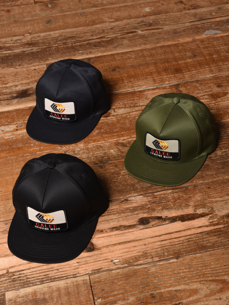CALEE   「WEST POINT CALVE LOGO WAPPEN CAP」  ワッペンキャップ