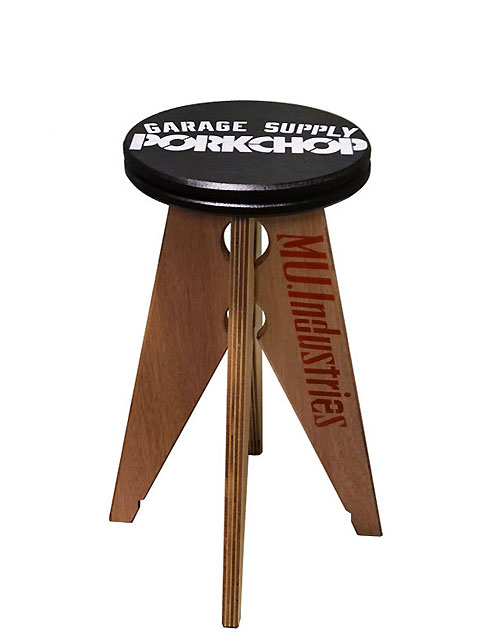 PORKCHOP GARAGE SUPPLY × MU.Industries   「PORK STOOL 〈SMALL〉 」  スツール